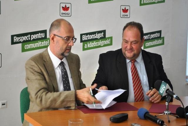 Maros megyében biztosít befutó helyet az MPP-nek jelöltlistáján az RMDSZ
