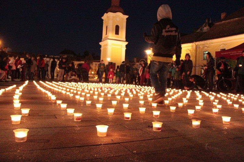 Caritas: tizenhat megyében gyúltak ki a szolidaritás lángjai pénteken