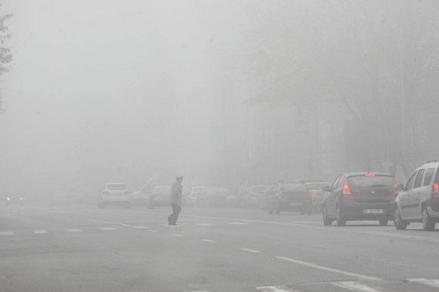 Ködfigyelmeztetés van érvényben hétfő reggel hat erdélyi megyében