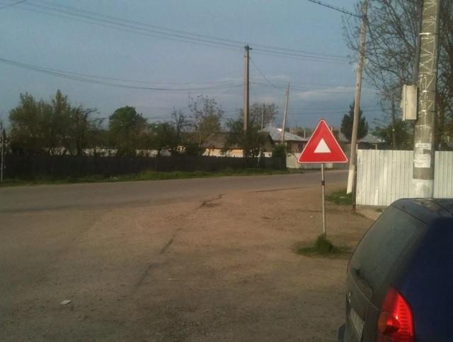 Rejtélyes útjelző táblát fedeztek fel Romániában