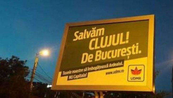 Kovács Péter: a Kolozsvári Polgármesteri Hivatal elrendelte az óriásplakátok eltávolítását; megszegik az Alkotmány előírásait