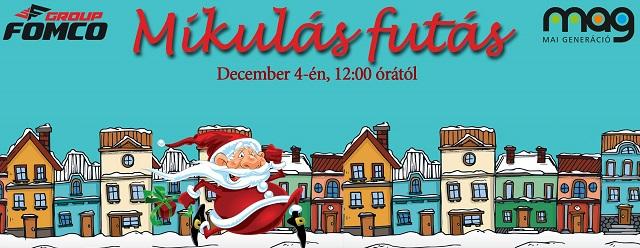 Mikulás-futás lesz december 4-én Marosvásárhelyen