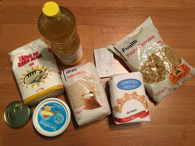 17 lej – Kipróbáltuk mennyi élelmiszert lehet vásárolni belőle!