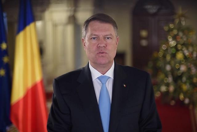 Klaus Iohannis újévi üzenete: Ne veszítsük el a Romániába vetett hitünket