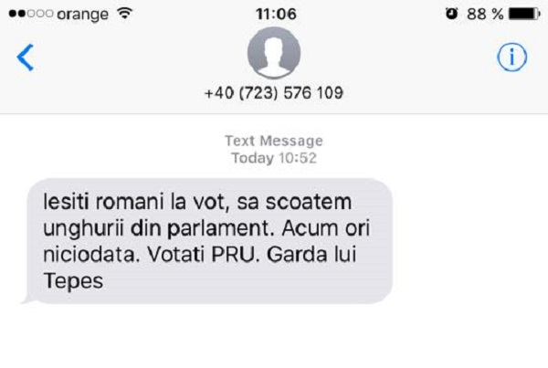Magyarellenes üzeneteket küldözgetnek SMS-ben, az RMDSZ feljelentést tesz