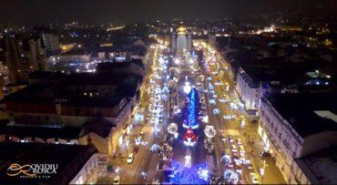 Mesébe illő karácsonyi VIDEÓ készült Marosvásárhelyről!