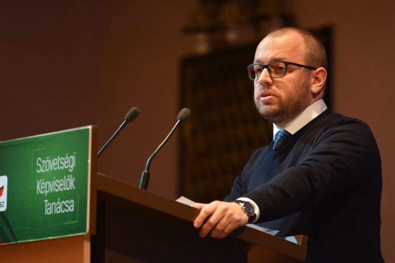 Porcsalmi Bálint az RMDSZ új ügyvezető elnöke