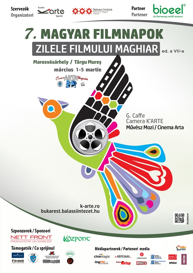 7. Marosvásárhelyi Magyar Filmnapok március 1.-5. között!