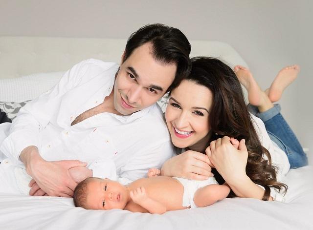 Dancs Annamari megmutatta egy hónapos kisfiát
