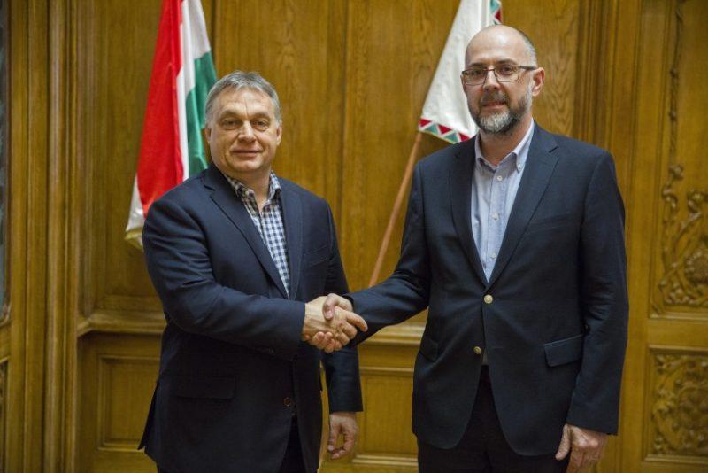 Orbán Viktor magyar miniszterelnökkel tárgyalt Kelemen Hunor szövetségi elnök