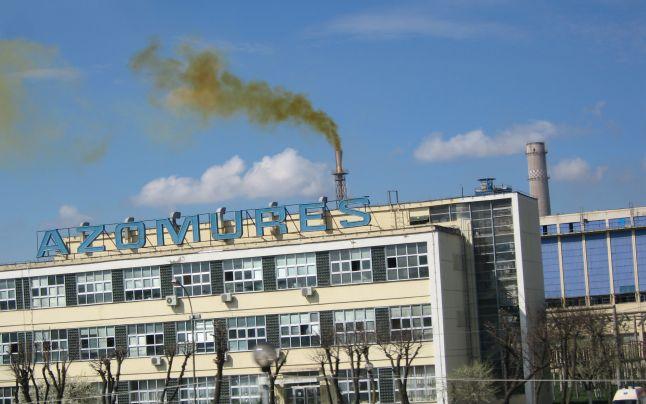 Leállt az Azomureş kombinát egyik berendezése