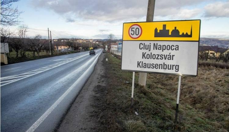 Román, magyar, német és latin nevű helységnévtáblákat helyeznek ki Kolozsvár bejárataihoz