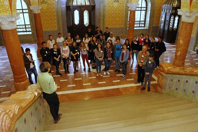 A Régi Városháza titkait ismerhették meg a Maros Megyei Tanács nyílt napjának látogatói