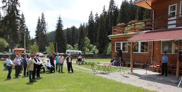 Megnyitották Homoródfürdőn a felújított hatos villát, a táboroztatás fellendítése, a térség vonzerejének növelése a cél