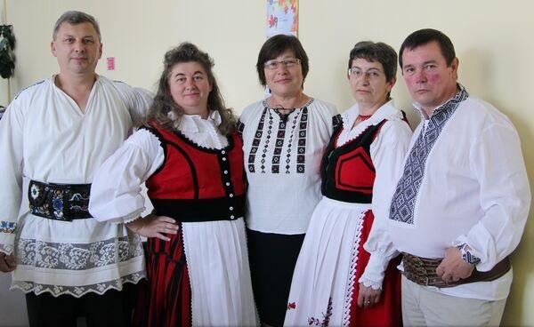 Román és magyar népviseletbe öltözve mentek dolgozni a munkafelügyelőség alkalmazottai