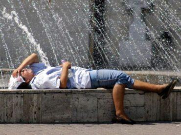 Sárga jelzésű hőségriadót adott ki az Országos Meteorológiai Igazgatóság az ország 12 megyéjére