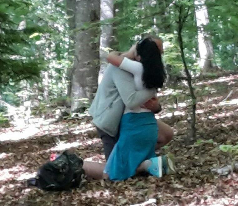 Megható lánykérés a Csíksomlyói Búcsún