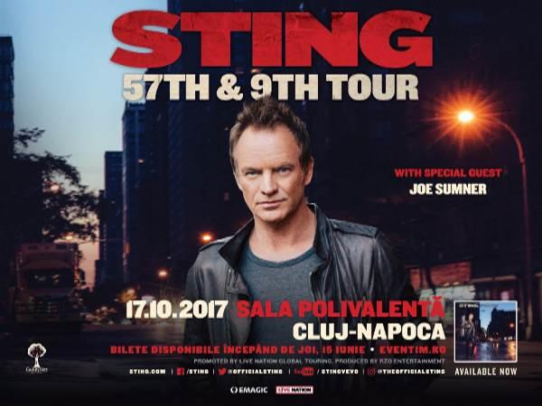 Kolozsváron ad koncertet októberben Sting