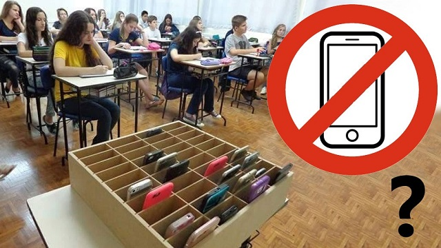 Vége a mobilozásnak az órákon, a diákok ezután egy erre kialakított helyre rakják le telefonjaikat