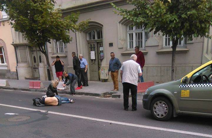 Két gyalogost ütöttek el a Bolyai utcában