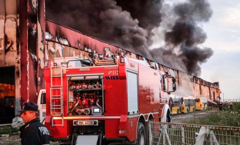 Öt személy sérült meg egy szászvárosi olajgyárban történt robbanás során