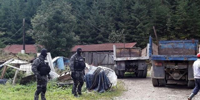 7 házkutatást hajtottak végre Maros megyében faanyaggal kereskedő személyeknél
