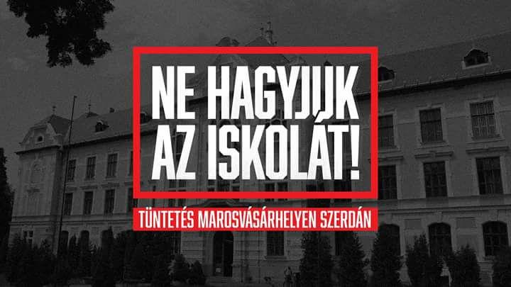 Marosvásárhelyi iskolaügy: Megszorításokkal engedélyezte a polgármesteri hivatal a tüntetést