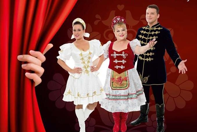 Operett sztárok Marosvásárhelyen: Oszvald Marika, Bódi Barbara és Peller Károly
