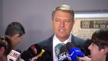 Klaus Iohannis: állandóan változó törvények mellett egyetlen üzleti tervet sem lehet sikerre vinni