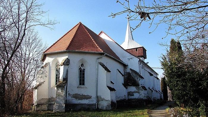 """Szent Kristóf-ábrázolás lehetett a küküllővári református templom """"tatárfeje"""""""