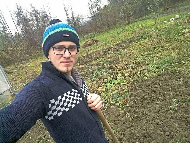 Egy fiatal aki a mezőgazdaságban látja jövőjét!