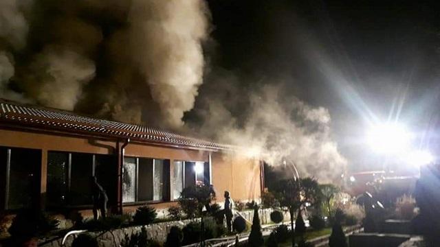 Heves tűz ütött ki egy szovátai szálloda wellness központjában