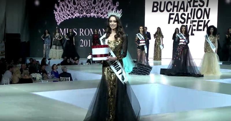 Bukaresti, 18 éves lány lett a Miss Románia 2017 verseny győztese