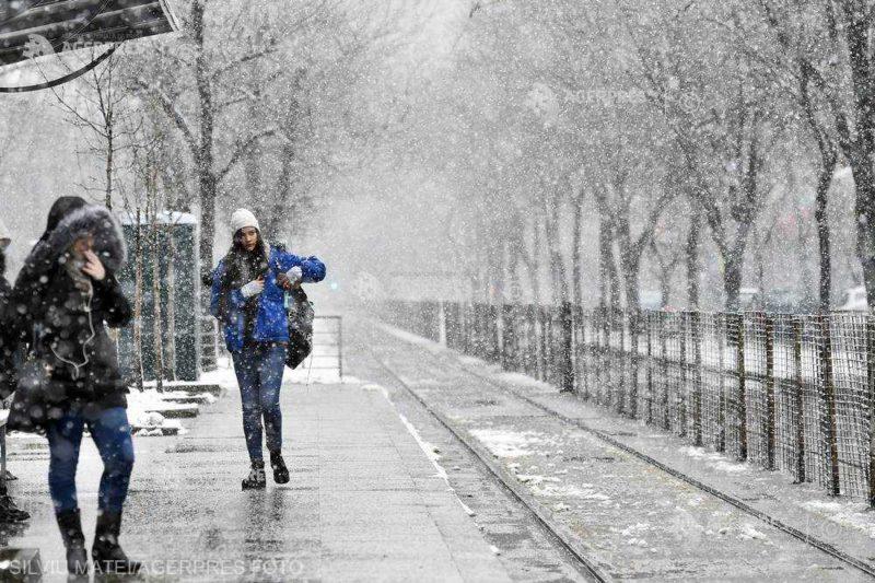 Hideg időre, havazásra figyelmeztetnek a meteorológusok