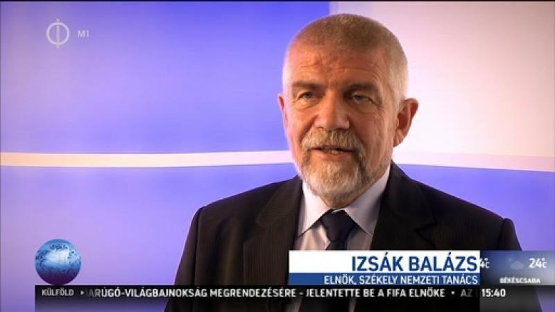 Izsák Balázs: fenyegetéssel nem lehet hátrálásra kényszeríteni a székelyeket