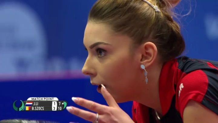 Így örült Szőcs Bernadette, miután megnyerte az Európa Top-16-bajnokságot