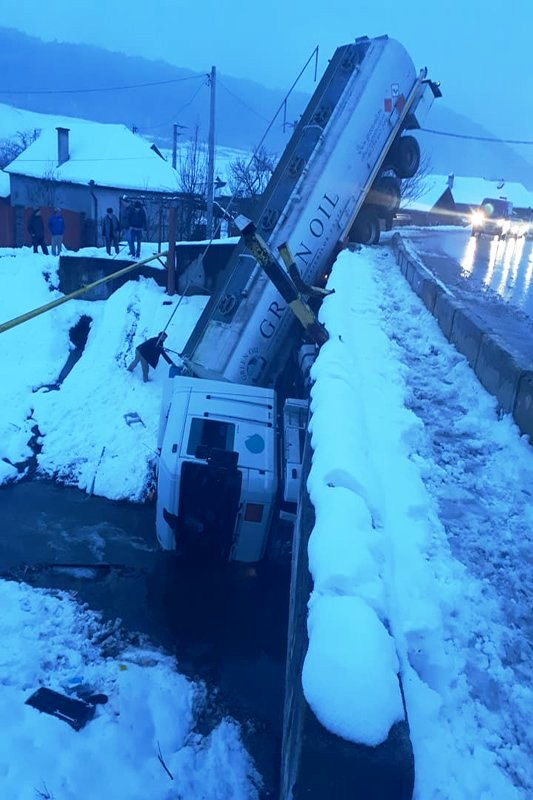 Durva kamionbaleset történt Maros megyében