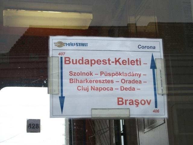 A Székelyföld-Budapest vasúti kapcsolat fejlesztését kérik a székelyföldi elöljárók