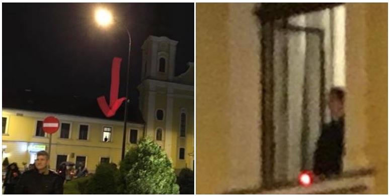 Gyertyával az ablakban tisztelte meg az ortodox húsvétot a marosvásárhelyi katolikus pap
