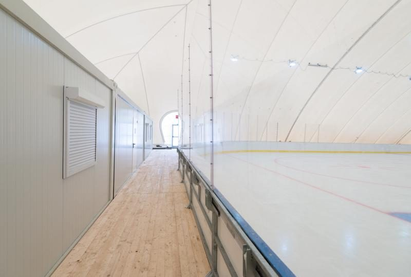 A sportminisztérium becslései szerint 16,5 millió lejre van még szükség a marosvásárhelyi műjégpálya befejezéséhez
