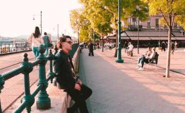 Nemes Tibor Budapesten forgatta új videóklipjét