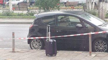 Egy brassói turista felejtette a téren a 'gyanús' bőröndöt, amiért kivonult a marosvásárhelyi terrorelhárító csoport