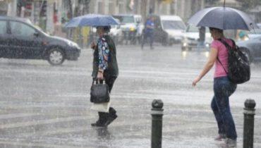 Heves esőzések lesznek csütörtök estig az ország 22 megyéjében