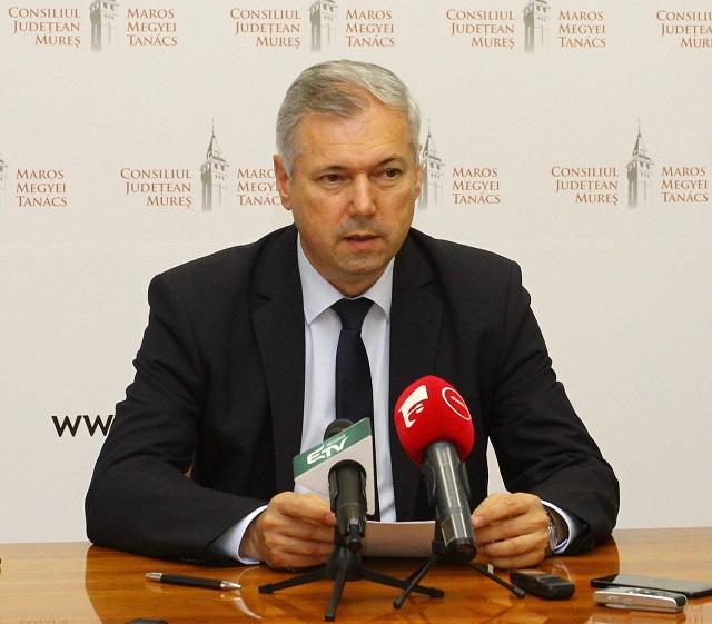 Az infrastruktúra fejlesztését tartja fő prioritásának Péter Ferenc, a Maros Megyei Tanács elnöke