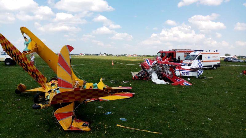 Összeütközött a levegőben két sportrepülőgép – egyik pilóta meghalt, a másik kómában van
