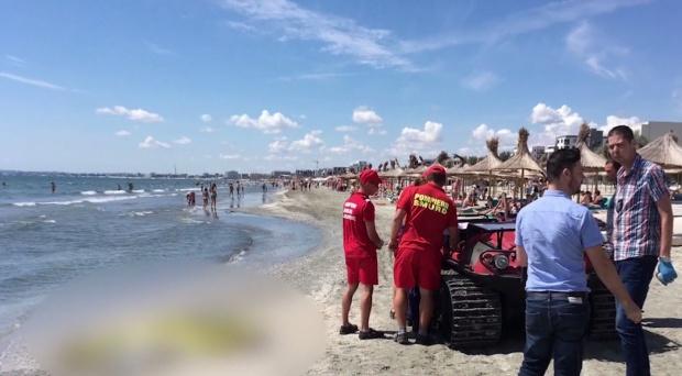 A Fekete-tengerbe fulladt egy 11 éves kislány Mangaliánál