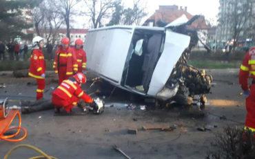 Durva baleset történt Marosvásárhelyen, mindkét sofőr meghalt
